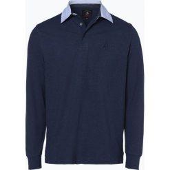 Andrew James Sailing - Męska koszulka polo, niebieski. Niebieskie koszulki polo Andrew James Sailing, l. Za 139,95 zł.