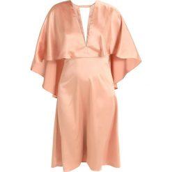 Sukienki hiszpanki: True Decadence Sukienka koktajlowa apricot