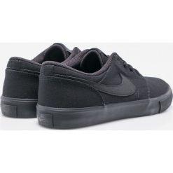 Nike Sportswear - Buty Sb Portmore II Solar Cnvs. Szare buty skate męskie Nike Sportswear, z materiału, na sznurówki. W wyprzedaży za 219,90 zł.