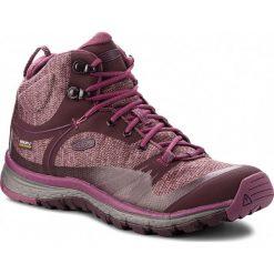 Trekkingi KEEN - Terradora Mid Wp 1019876 Wine Tasting/Tulipwood. Czerwone buty trekkingowe damskie Keen. W wyprzedaży za 399,00 zł.