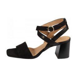 Gant Sandały Damskie Rachael 37 Czarne. Czarne sandały damskie marki GANT, ze skóry, na wysokim obcasie. W wyprzedaży za 439,00 zł.