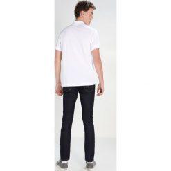 Lacoste CROCODIL Koszulka polo white. Szare koszulki polo marki Lacoste, z bawełny. Za 379,00 zł.