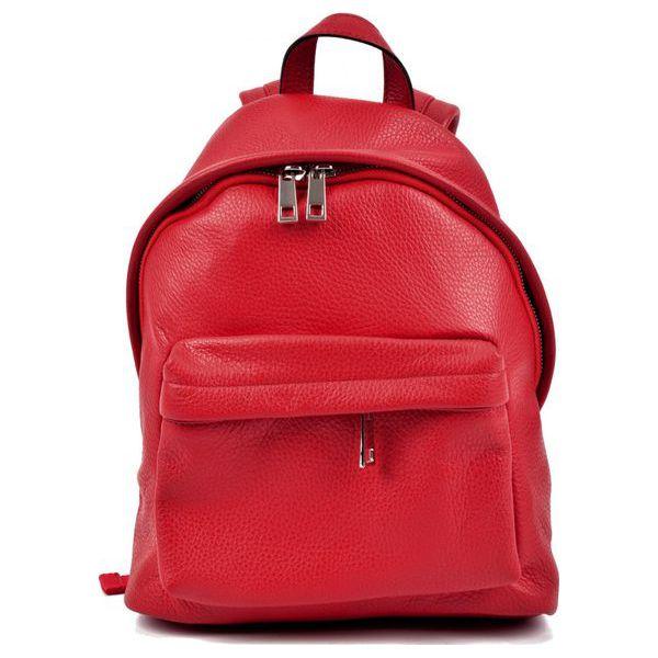 54b44d9ecebb9 Robertam Plecak Damski Czerwony - Czerwone plecaki damskie Robertam ...