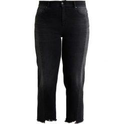 Ashley Graham x Marina Rinaldi IDROVORO WITH SIDE PANELS Jeansy Straight Leg nero. Czarne jeansy damskie Ashley Graham x Marina Rinaldi. Za 949,00 zł.