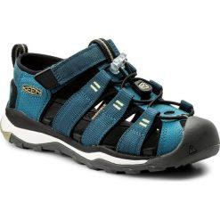 Sandały KEEN - Newport Neo H2 1018425 Legion Blue/Moss. Niebieskie sandały chłopięce Keen, z materiału. W wyprzedaży za 199,00 zł.