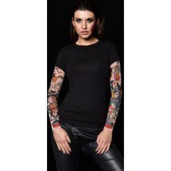 Odzież damska: T-shirt damski z tatuażem Halloween Pumpkins