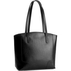 Torebka CREOLE - K10307  Czarny. Czarne torebki klasyczne damskie Creole, ze skóry. W wyprzedaży za 259,00 zł.