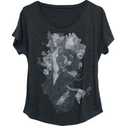 Bluzki asymetryczne: Linkin Park Faces Dolman Koszulka damska odcienie szarego