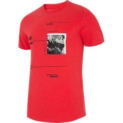 T-shirty męskie: T-shirt męski TSM223 – koral