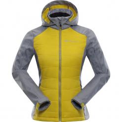 """Kurtka przejściowa """"Perka"""" w kolorze szaro-żółtym. Szare kurtki damskie marki Alpine Pro, xs, z materiału. W wyprzedaży za 369,95 zł."""