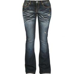 RED by EMP Grace Jeansy damskie ciemnoniebieski. Niebieskie jeansy damskie bootcut marki bonprix. Za 164,90 zł.