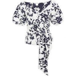 Club Monaco JAPERA Tshirt z nadrukiem navy /white. Niebieskie t-shirty damskie Club Monaco, z nadrukiem, z materiału. Za 779,00 zł.