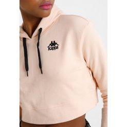 Bluzy rozpinane damskie: Kappa AUTHENTIC ZALY Bluza z kapturem pink peach