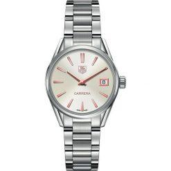 ZEGAREK TAG HEUER Carrera Lady WAR1312.BA0778. Czarne zegarki damskie marki KALENJI, ze stali. Za 7040,00 zł.