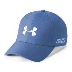 Czapki z daszkiem męskie: Under Armour Czapka męska Men's Golf Headline 2.0 Cap niebieska r. L/XL (1305018-437)