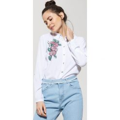 Koszula z haftem - Biały. Białe koszule damskie House, l, z haftami. Za 59,99 zł.