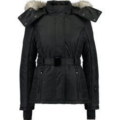 Topshop SNO AMAZON JACKET  Kurtka narciarska black. Czarne kurtki damskie Topshop, na zimę, z materiału, narciarskie. W wyprzedaży za 439,20 zł.