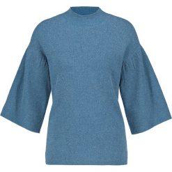 Sweter w kolorze turkusowym. Niebieskie swetry klasyczne damskie Gerry Weber, z wełny. W wyprzedaży za 108,95 zł.