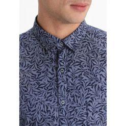 Koszule męskie na spinki: Eterna SLIM FIT Koszula biznesowa navy