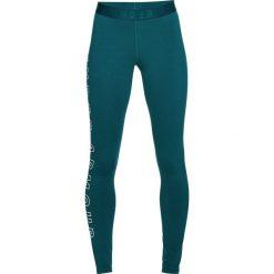 Spodnie sportowe damskie: Under Armour Spodnie damskie Favorite Legging Graphic turkusowe r. M (1320623-716)