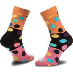 Skarpety Wysokie Unisex HAPPY SOCKS - BDB01-2000 Kolorowy. Różowe skarpetki męskie Happy Socks, w kolorowe wzory, z bawełny. Za 34,90 zł.