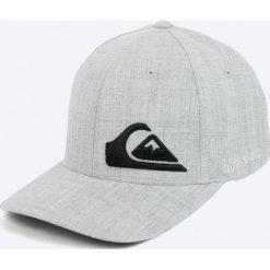 Quiksilver - Czapka. Szare czapki z daszkiem męskie Quiksilver, z elastanu. W wyprzedaży za 89,90 zł.