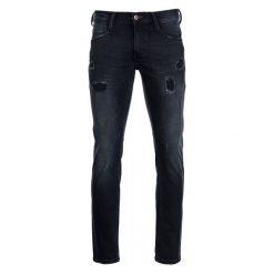 Mustang Jeansy Męskie Oregon 33/32 Ciemnoniebieski. Czarne jeansy męskie marki Mustang, l, z bawełny, z kapturem. W wyprzedaży za 249,00 zł.