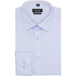 Koszula bexley 2678 długi rękaw slim fit niebieski. Niebieskie koszule męskie slim Recman, m, z długim rękawem. Za 139,00 zł.