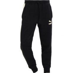 Spodnie męskie: Puma PANTS INSERTS SUEDE Spodnie treningowe puma black