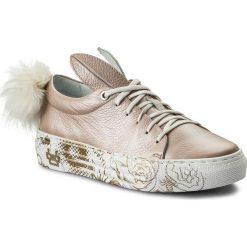 Sneakersy EVA MINGE - Pinto 3J 18SM1372443ES 103. Brązowe sneakersy damskie Eva Minge, z materiału. W wyprzedaży za 209,00 zł.