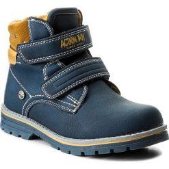 Buty zimowe chłopięce: Trapery ACTION BOY – CP07-16844-05 Granatowy