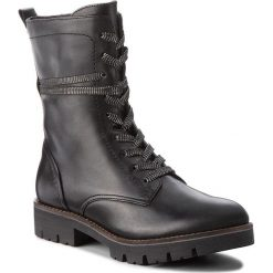 Trapery CAPRICE - 9-25203-21 Black Nappa 022. Czarne buty zimowe damskie Caprice, z materiału. Za 349,90 zł.