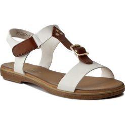 Rzymianki damskie: Sandały VIA RAVIA – WS1807-3 Biały