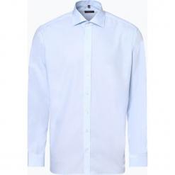 Eterna Modern Fit - Koszula męska niewymagająca prasowania, niebieski. Niebieskie koszule męskie non-iron marki Eterna Modern Fit, m, z bawełny, z klasycznym kołnierzykiem. Za 229,95 zł.