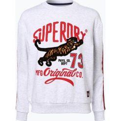 Superdry - Damska bluza nierozpinana – Original Tiger Crew, szary. Szare bluzy sportowe damskie marki Superdry, l, z nadrukiem. Za 229,95 zł.