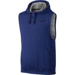 Nike Koszulka męska Dri-Fit Fleece Pullover  granatowa r. XL (742618 455). Niebieskie t-shirty męskie Nike, m, dri-fit (nike). Za 172,68 zł.