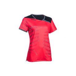 T-shirty damskie: Koszulka H500 różowo -czarna