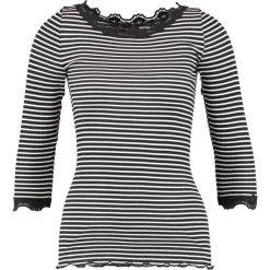 Bluzki asymetryczne: Rosemunde Bluzka z długim rękawem black/ivory