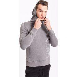 Bluzy męskie: Bluza męska BLM207z- szary melanż