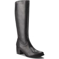 Kozaki LASOCKI - 0965-01BIG Czarny. Czarne buty zimowe damskie Lasocki, ze skóry, na obcasie. Za 349,99 zł.