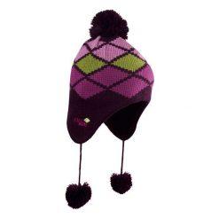 Czapki damskie: CHILLOUTS Czapka damska Ricky Kid Hat RIK02 fioletowo-zielona (CHI-3662)