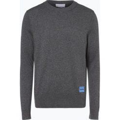 Calvin Klein - Sweter męski, szary. Szare swetry klasyczne męskie marki Calvin Klein, m, z dzianiny. Za 449,95 zł.