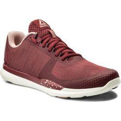 Buty Reebok - Sprint Tr CN1230  Urban Maroon/Pink/Chalk. Szare buty do biegania damskie marki Reebok, l, z dzianiny, z okrągłym kołnierzem. W wyprzedaży za 229,00 zł.