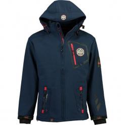 """Kurtka softshellowa """"Tacebook"""" w kolorze granatowym. Niebieskie kurtki męskie marki GALVANNI, l, z okrągłym kołnierzem. W wyprzedaży za 295,95 zł."""