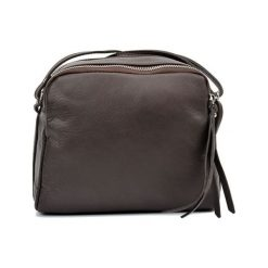 Torebki klasyczne damskie: Skórzana torebka w kolorze brązowym – (S)20 x (W)22 x (G)9 cm