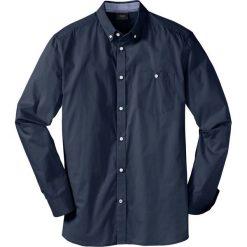 Koszula z długim rękawem bonprix ciemnoniebieski. Białe koszule męskie marki bonprix, z klasycznym kołnierzykiem, z długim rękawem. Za 69,99 zł.