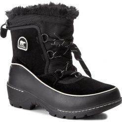 Kozaki dziewczęce: Śniegowce SOREL – Youth Torino III NY1892 Black/Light Bisque 010