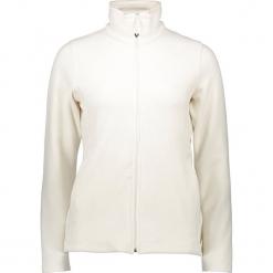Kurtka polarowa w kolorze białym. Białe kurtki damskie marki CMP Women, z polaru. W wyprzedaży za 113,95 zł.