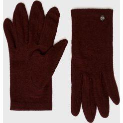 Medicine - Rękawiczki Hand Made. Czerwone rękawiczki damskie marki MEDICINE, z dzianiny. Za 29,90 zł.