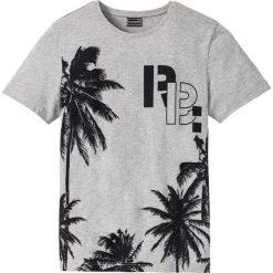 T-shirty męskie z nadrukiem: T-shirt Slim Fit bonprix jasnoszary melanż